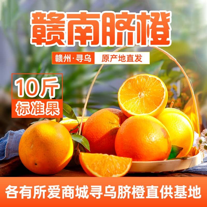 现货发售江西赣南脐橙橙子新鲜水果5斤/10斤/20斤包邮